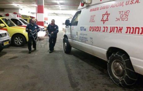 יהודי כבן 40 נדקר בבטנו בכביש 55