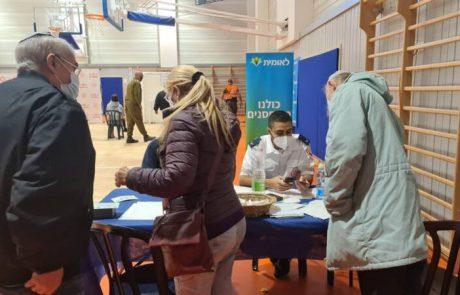 מבצע חיסון לתושבי מועצה מקומית קרני שומרון