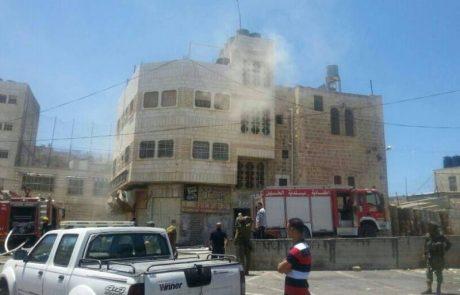 יהודים מצילים נפגעים ערבים בחברון