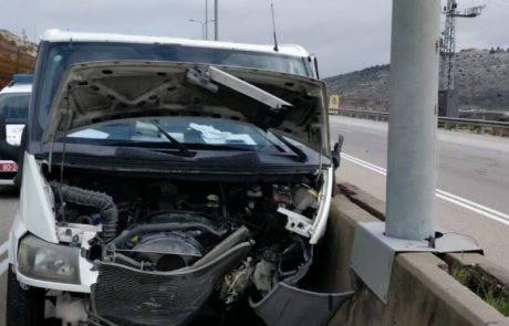 בן 50 נהרג בתאונת דרכים בכביש חוצה שומרון