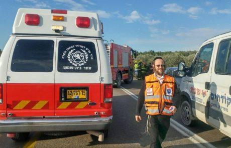 אברהם גלזמן נהרג היום בכביש חוצה שומרון