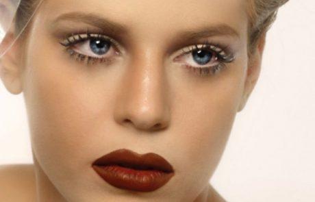 איפור שפתיים חושניות במיוחד בצורת לב