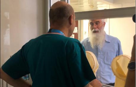 הרב זינגר בהדסה: אני יודע שהשהייה תהייה ממושכת אבל זה לטובה