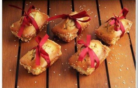 קליל מהיר וטעים מיני עוגות טחינה