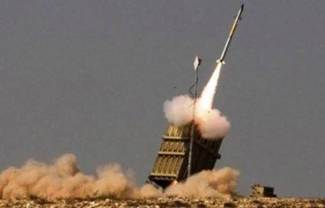 ירי רקטות מסוריה – כיפת ברזל הופעלה בגולן