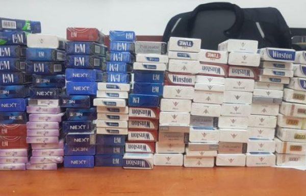 בן 33 נעצר בחשד שגנב סיגריות בשווי אלפי שקלים