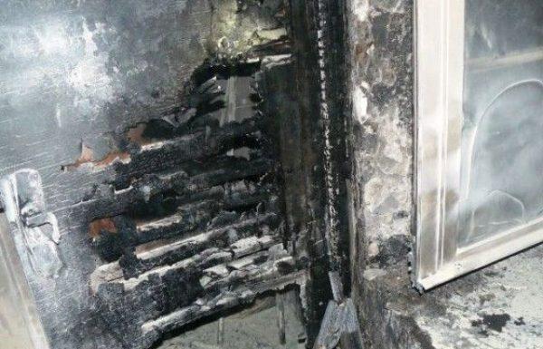 פשע שנאה – הוצת מבנה בכנסייה היוונית