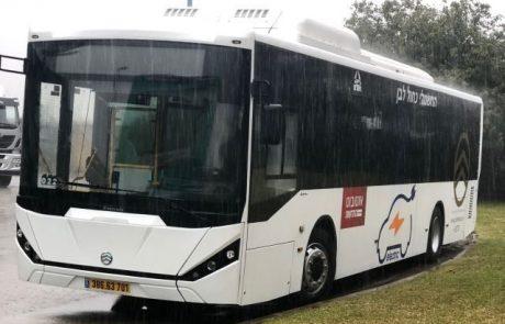 אושר לייצר אוטובוסים חשמליים בישראל