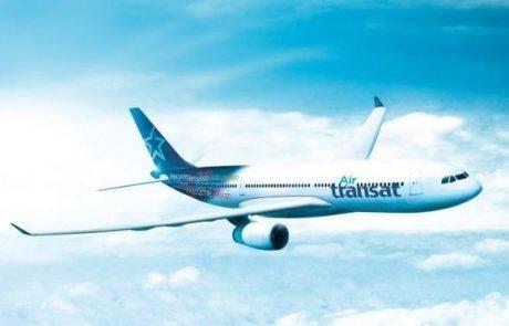חברת התעופה הקנדית אייר טרנסאט מגיעה לישראל