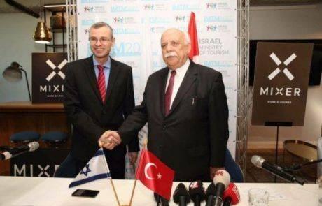 """לוין: """"ביקור שר התיירות הטורקי חשוב ולא מקרי"""""""