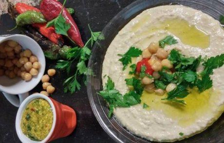 חומוס -מאכל האלים