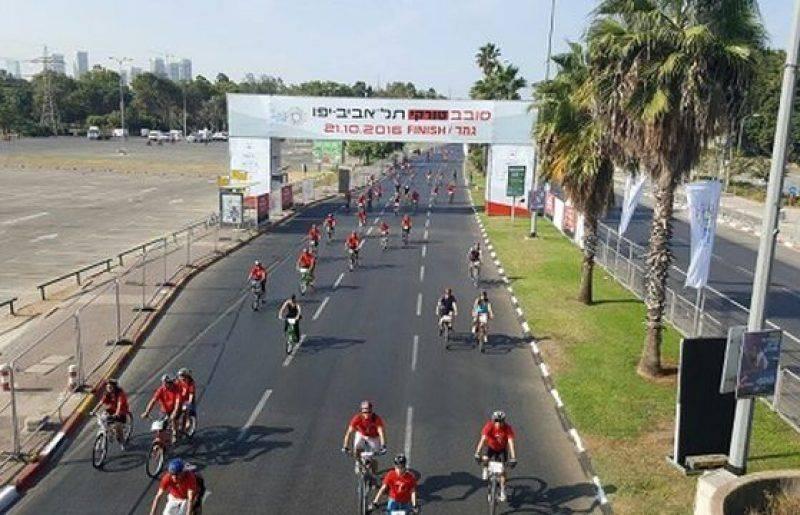 25 אלף משתתפים באירוע האופניים סובב טורקי תל אביב – יפו
