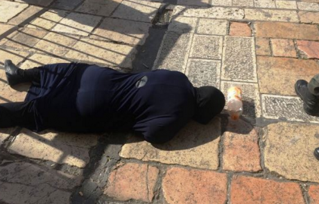 שער שכם בירושלים מחבלת ניסתה לבצע פיגוע דקירה
