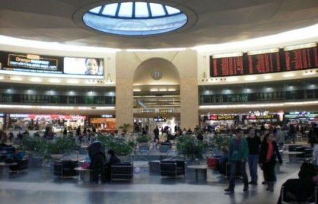 """תנועת הנוסעים בנתב""""ג  בינואר – יוני גדלה ב-0.5%"""