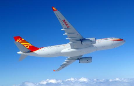 היינאן איירליינס משיקה קו טיסות ישיר לשנגחאי