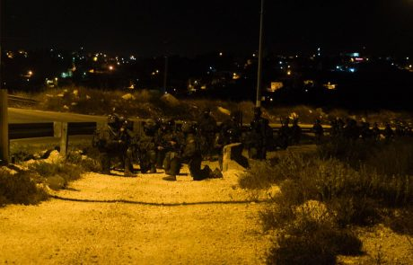 13חשודים בפעילות טרור נעצרו הלילה במחנה הפליטים אל ערוב