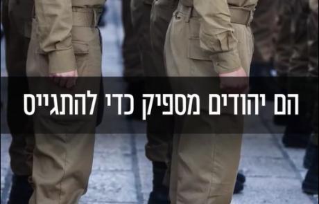 הציוץ של ליברמן : טובים לסכן את חייהם בשביל המדינה,  לא יהודים מספיק בשביל הרב הראשי