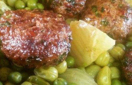 ארטישוק ממולא בתבשיל ירוק