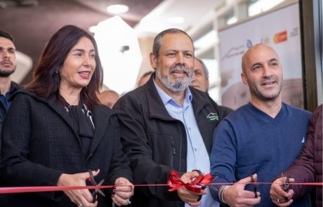 השרה רגב חנכה אולם ספורט חדש בהר חברון