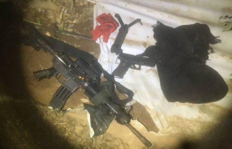 """נעצרו חמישה בדואים  בגין תקיפת חייל צה""""ל  וחטיפת נשקו"""