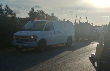 שלושה ישראלים נפגעו בפיגוע דריסה באזור גוש עציון