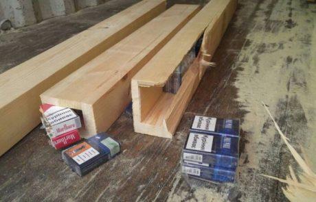 נעצר בחשד כי ניסה להבריח  כ- 100,000 חפיסות סיגריות