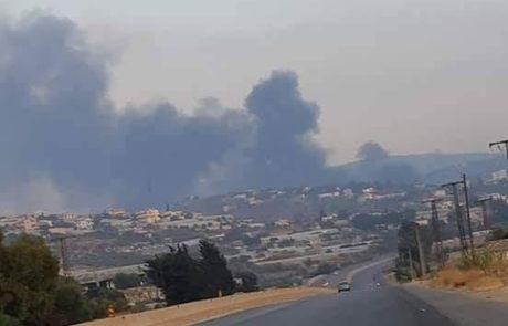 """תקשורת סורית """" ישראל תקפה בסוריה"""""""