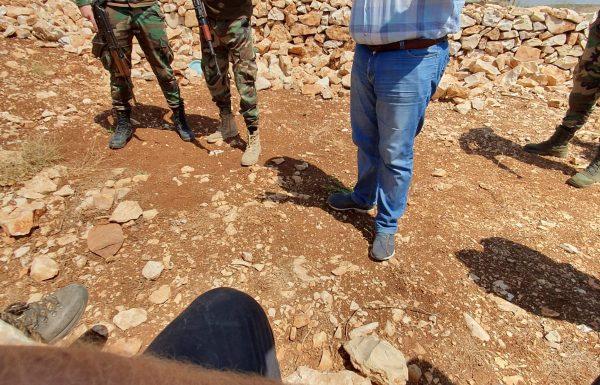 שוטרים פלסטינים ירו לעבר מטיילים ישראלים בשומרון