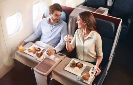 בוחרים את הארוחה לפני הטיסה ואוכלים מתי שרוצים במהלכה