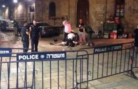מענק מיוחד לשוטרים  בעיר העתיקה בירושלים
