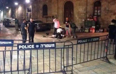 פיגוע דקירה בירושלים-האם נפצעה קשה