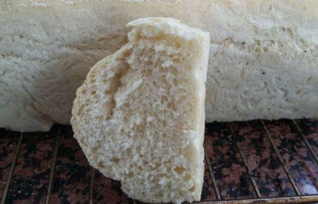 כיכר לחם פריכה כמו בגט