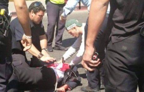 פצוע דקירה בצוואר בירושלים