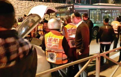 מחבל פצע שלושה בירושלים