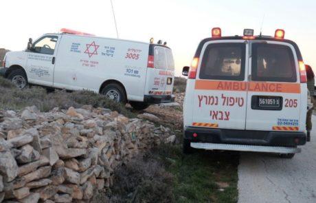 פצוע בינוני בפיגוע הדקירה סמוך לנווה דניאל
