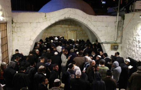 בני משפחות פצועי תאונת הדרכים הגיעו להשתטח על קבר יוסף