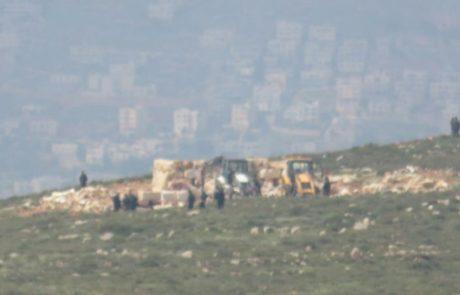 נהרס ביתם של משפחת הראל באלון מורה