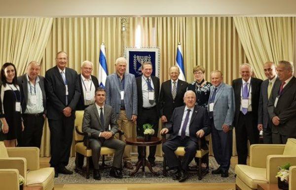 אות הוקרה הוענק היום ל-10 מנהיגי התעשייה בבית הנשיא