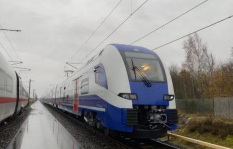 נסיעות מבחן ראשונות של הרכבות החשמליות של רכבת ישראל