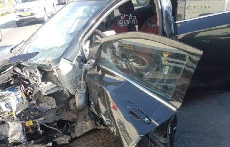 תאונת דרכים בצומת רחלים – נקבע מותה של נהגת ישראלית