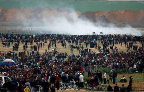 ישראלי נפצע בעימותים ברצועת עזה
