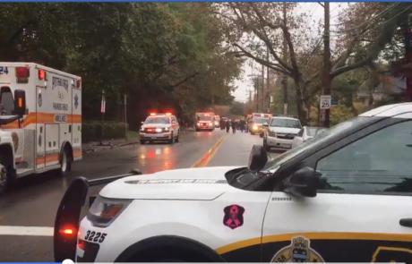 מסע ירי בבית כנסת שמונה בני אדם נרצחו  בפיטסבורג