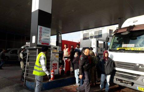 במבצע אכיפה של המנהל האזרחי נאכפו 6 תחנות דלק פיראטיות באזור חברון