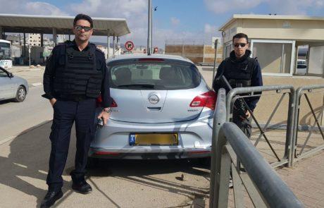סוכלה הברחת רכב גנוב לשטחי יהודה ושומרון