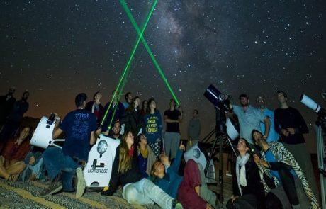 מסע בין כוכבים  – צופים לשמים לציון יום הולדתו של אילן רמון