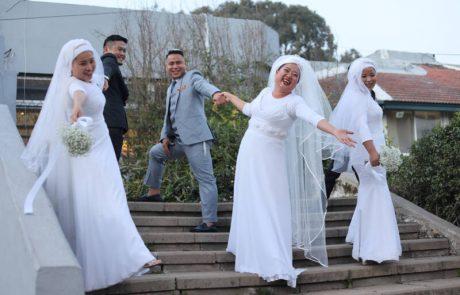שבט בני המנשה  ערך 11 חתונות מרגשות בערב אחד