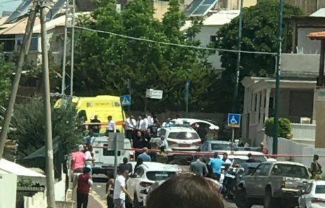 אזרח נורה למוות ושני שוטרים נפצעו  בטירת הכרמל
