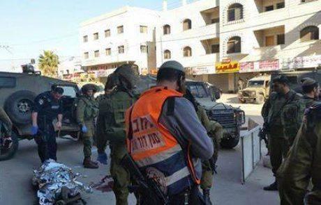 שני חיילים נפצעו בפיגוע דקירה בחווארה