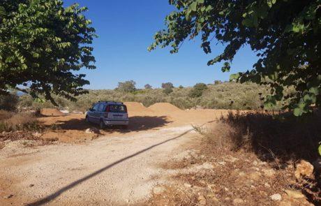 פלסטינים משתלטים על הכניסה לאריאל?