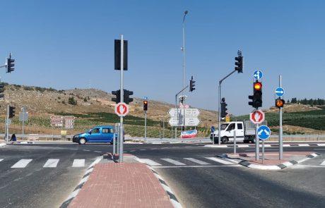 כביש 60: הוצבו רמזורים בצומת שילה